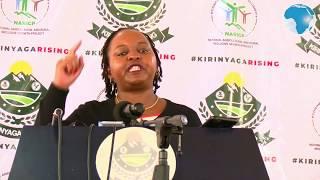 Ann Waiguru slams Agriculture CS Mwangi Kiunjuri