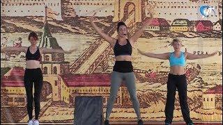 На Ярославовом Дворище по-спортивному отпраздновали День физкультурника