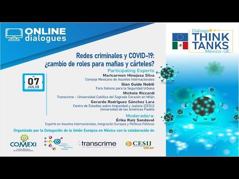 Webinar: Redes criminales y COVID-19: ¿cambio de roles para mafias y cárteles?