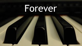 Forever (Chris Tomlin) - piano instrumental cover with lyrics