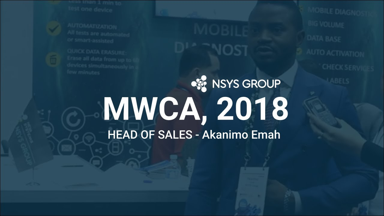Interview with our Head of Sales Akanimo Emah for MWCA @gsmExchange Tradezone MWCA 2018