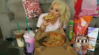 MY FAVORITE JUNK FOOD 2!!!! MUKBANG - EATING SHOW - WATCH ME EAT!