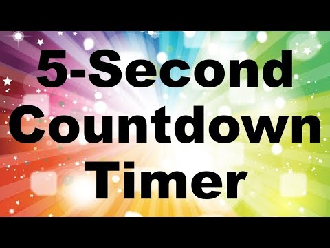 Download How To Create A 5 Second Countdown Timer In Powerpoint