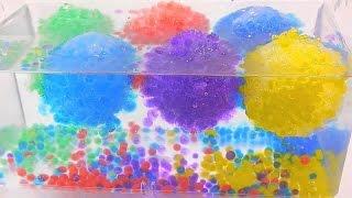 Что будет если заморозить шарики орбиз