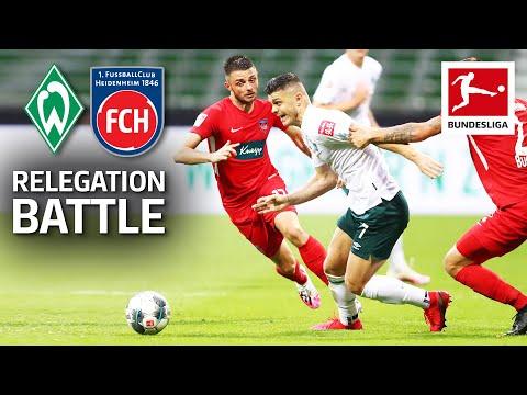 SV Sport Verein Werder Bremen 0-0 1. FC Heidenheim...