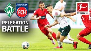 SV Werder Bremen vs. 1. FC Heidenheim 1846 - Bundesliga Relegation Battle