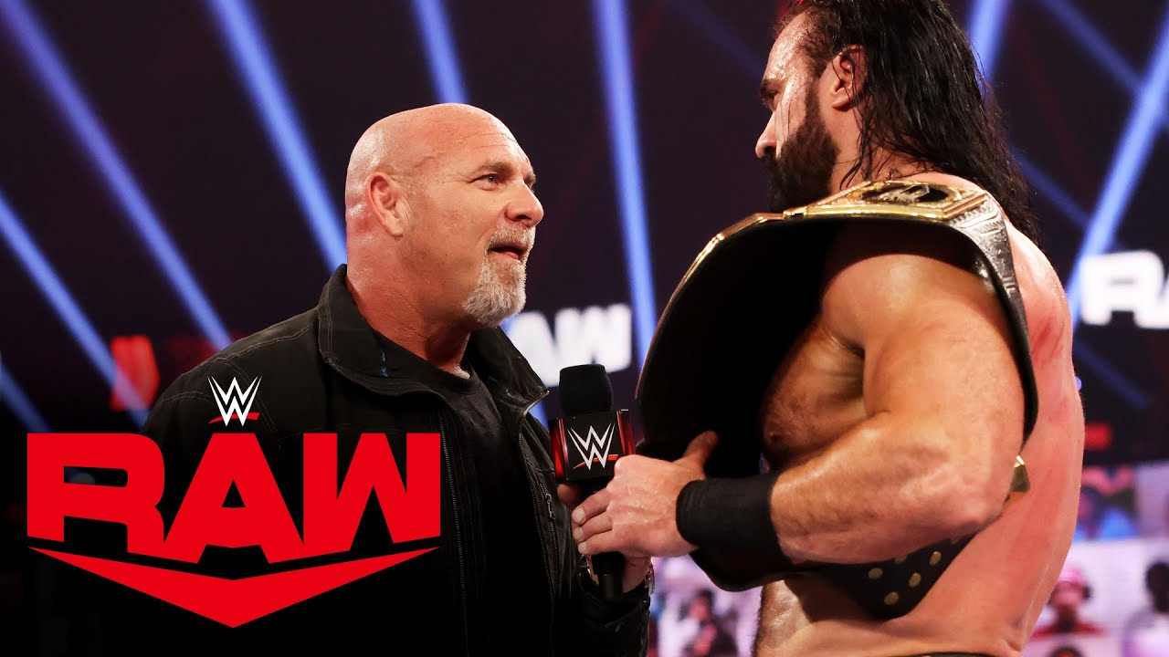 Drew McIntyre Plans To End Goldberg's Streak Of Victorious Comebacks