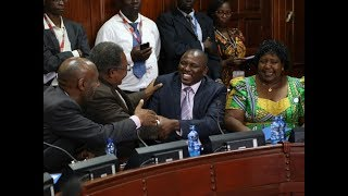 Jubilee MPs set to drop the following proposed amendments as committee tables report