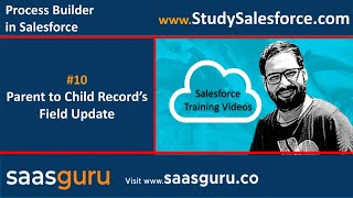 10 Parent to child records field update through process using process builder in salesforce
