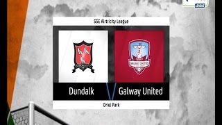 Watch highlights from Galway United FC's last visit to Oriel Park CmonTheTown