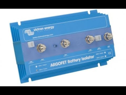 Intro - Victron Argofet Battery Isolator