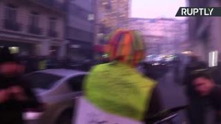 Acte 14 : la mobilisation des Gilets jaunes se poursuit à Paris