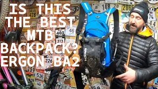 IS THIS THE BEST MTB BACKPACK? ERGON BA2