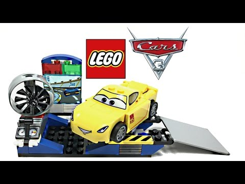 LEGO Cars 3 Cruz Ramirez Race Simulator review! 2017 set 10731!
