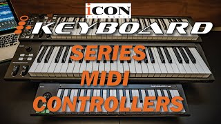 Icon Pro Audio: iKeyboard Series MIDI Controllers Overview