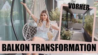 Balkon Transformation & Tour! l Kisu