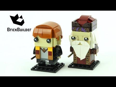 Vidéo LEGO BrickHeadz 41621 : Ron Weasley & Albus Dumbledore