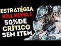 50 DE CRITICO SEM ITEM ESTRATÉGIA KILL NÍVEL INFALÍVEL TRYNDAMERE TOP