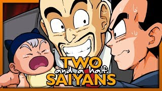 DragonShortZ Episode 1: Two and a Half Saiyans - TeamFourStar (TFS)
