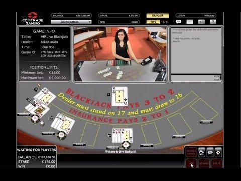 Live Blackjack by Comtrade Gaming