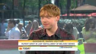 Руперт Гринт, Rupert Grint on The Today Show - 11.07.2011