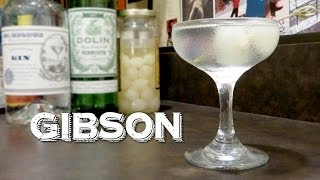 Gibson - the Classic Cocktail That Is Not to Be Confused with a Martini