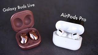 Samsung Galaxy Buds Live - Review & Vergleich mit Apple AirPods Pro (Deutsch) | SwagTab