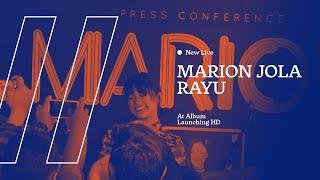 NEW LIVE Marion Jola   Rayu At Album Launching HD AUDIO