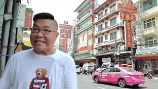 曼谷唐人街後面的批發市場 Sampeng market