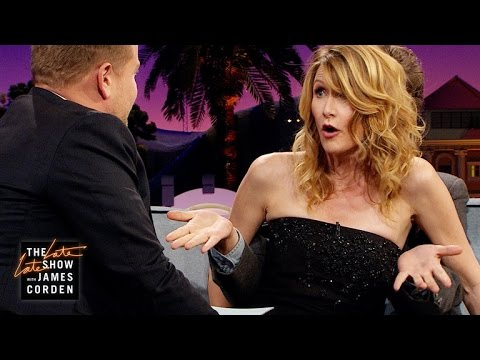 Laura Dern Can't Talk Without Zach Galifianakis's Hands