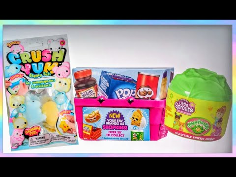 Shopkins Mystery MINI Basket, Cabbage Patch Kids Little Sprouts / Toy Opening