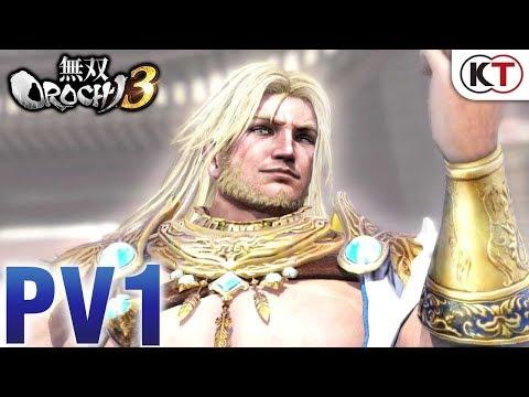 《無雙OROCHI蛇魔3》PV公開,希臘主神「宙斯」參戰!