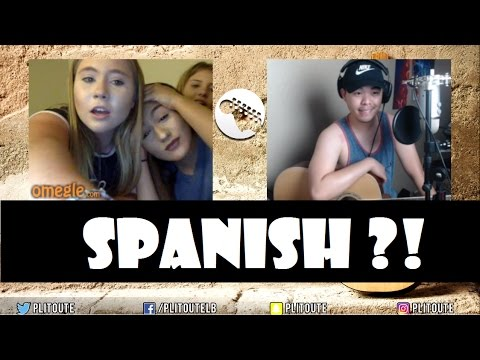 This Asian Sings In SPANISH , OMG !? (ClickbaitIsReal, Omegle Reaction)