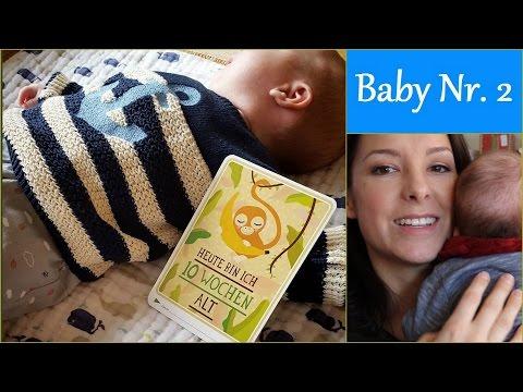Babyupdate: 10 Wochen | Schnupfen und Sprechen | gabelschereblog