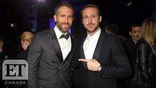 Ryan Vs Ryan At The Golden Globes