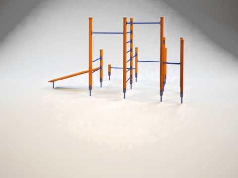 Видео круговой панорамы спортивного комплекса START LINE Fitness № 1