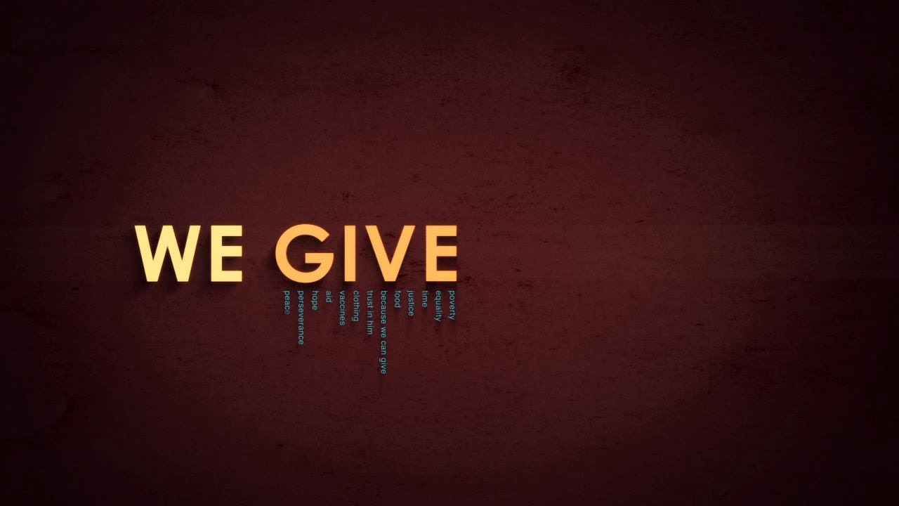Dan Stevers – We Give