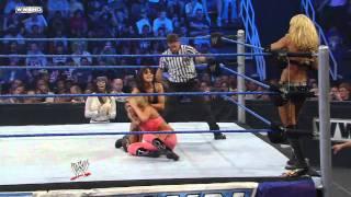SmackDown: Kelly Kelly & Rosa vs. Michelle McCool & Layla