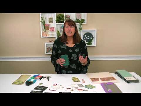Making Journal Inserts with Eileen Hull! | Sizzix