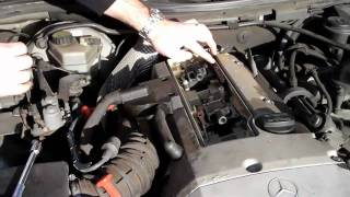 Benzwerks mercedes benz spark plugs and wires replacement most how to change spark plugs in a mercedes slk 230 r170 fandeluxe Gallery