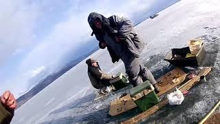 Рыбалка зимой на байкале чивыркуйского залива