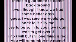 Remember My Name Jasmine Villegas with full lyrics on screen (studio Version)