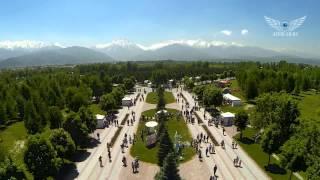 preview picture of video 'Алматы 2014 съемки с воздуха квадрокоптер Quadcopter Almaty 2014'