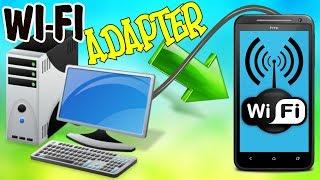 Как сделать из телефона WI-FI АДАПТЕР \ Как подключить Wi-FI на стационарном ПК через телефон
