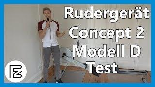 Rudergerät CONCEPT 2 MODELL D im TEST