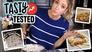 TESTING TASTY Buzzfeed Recipes || PARTY FOOD Edition: Were They Any Good?!