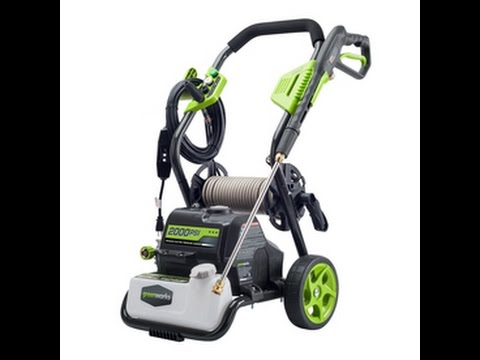Greenworks 2000 psi Electric Pressure Washer Review