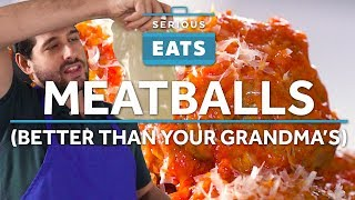 How To Make The Juiciest, Most Tender And Flavorful Italian-American Meatballs | Serious Eats