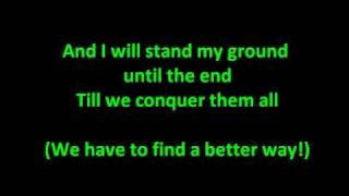 Escape The Fate - This War Is Ours [HQ with Lyrics]