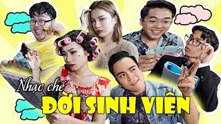 Nhạc Chế ĐỜI SINH VIÊN | Sơn Sun - Ngọc Minhoo - Dương Bi | Nắng Parody | Huhi TV